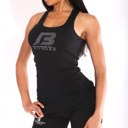BSF Large Bling Ribbed Tank